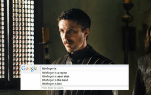 Game of Thrones characters and google
