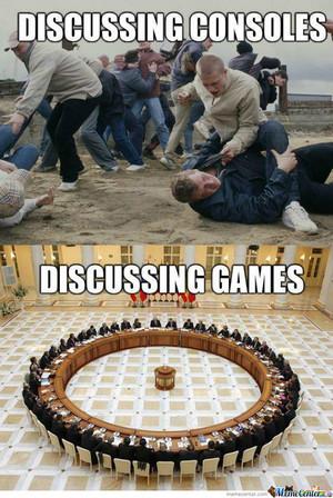 Games vs comsoles