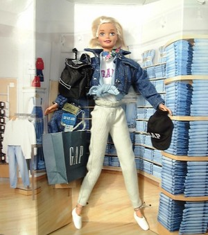 Gap Barbie 1996