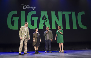 Gigantic artwork shown at D23 expo