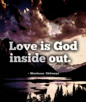 God in love