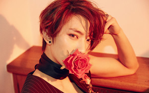 Gongchan's teaser image for ''Sweet Girl''