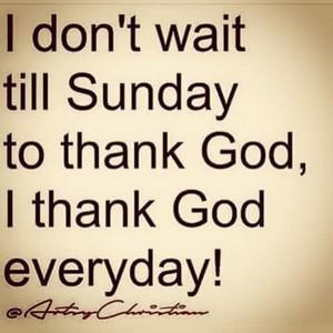 Gratitude For God