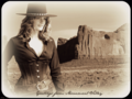 stana-katic - Greetings from Monument Valley wallpaper