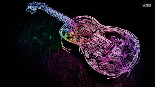 Musica wallpaper entitled chitarra