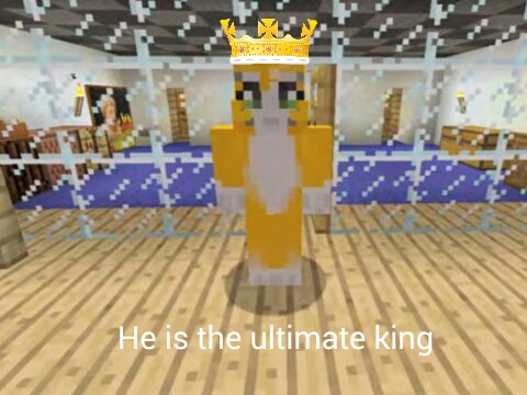 Stampylongnose Hintergrund called HE IS THE ULTIMATE KING