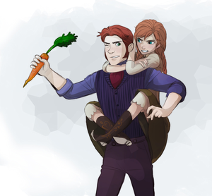 Hans and Anna Fanarts