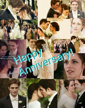 Happy Anniversary Edward and Bella!