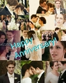 Happy Anniversary Edward and Bella!  - twilight-series fan art