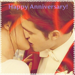 Happy Anniversary Edward and Bella