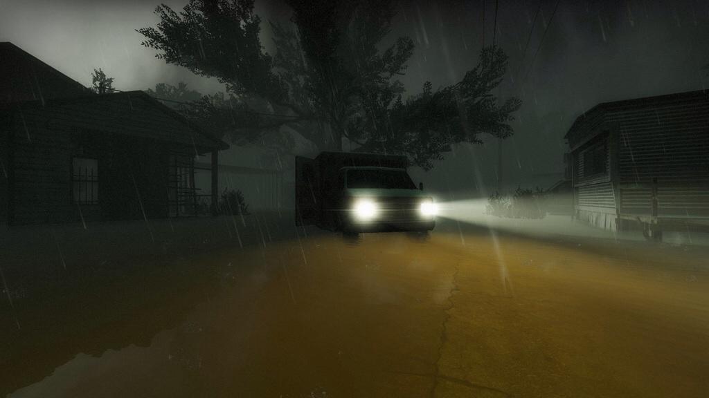 Hard Rain - Return to Town