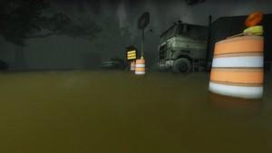 Hard Rain - Town Escape