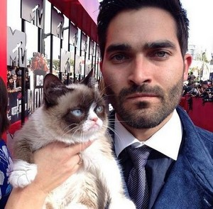 He is grumpy cat, and grumpy cat is grumpy cat