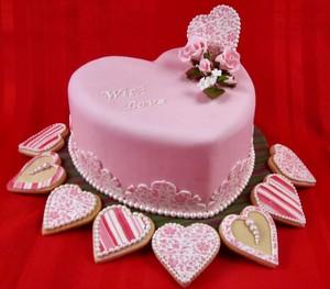심장 Cake