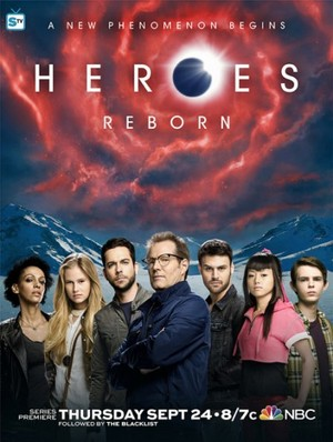 heroes Reborn - New Promotional Poster