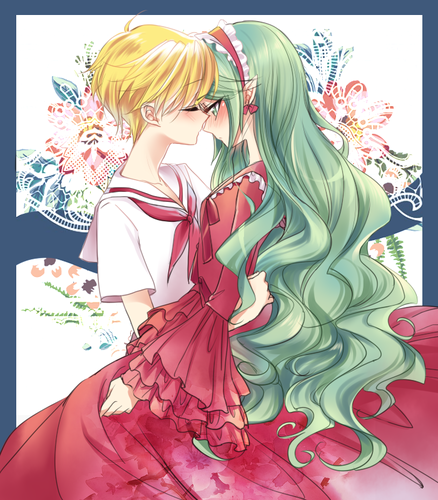 Mermaid Melody Hintergrund probably with Anime called Hippo x Yuri