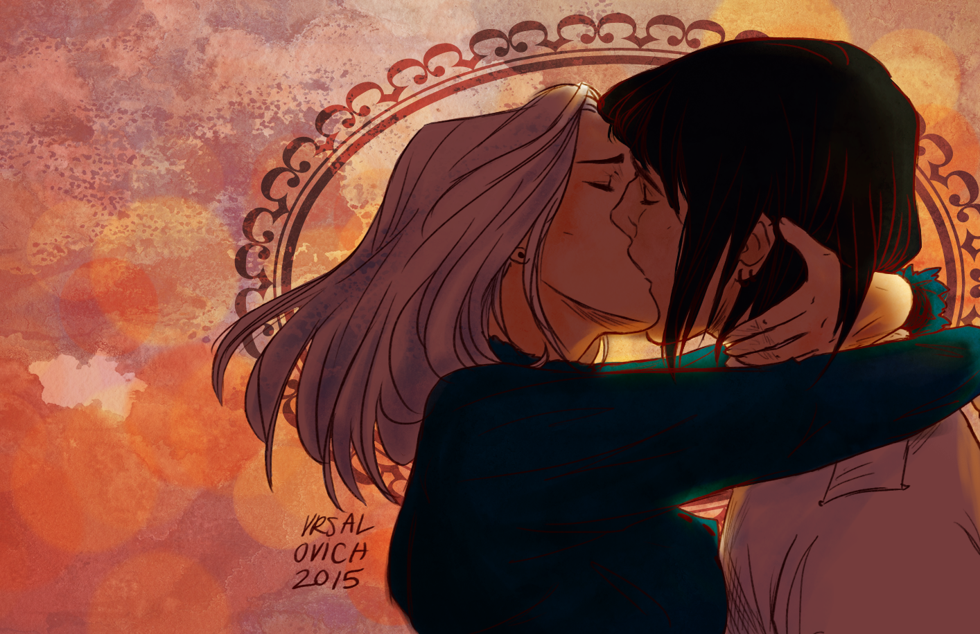 Howl and Sophie - Howl's Moving Castle Fan Art (38739898 ...