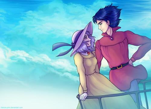Studio Ghibli images Howl and Sophie HD wallpaper and ...  Studio Ghibli i...