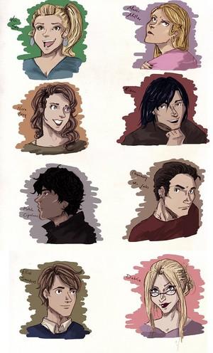 Hush, Hush Characters