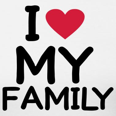 Love پیپر وال called I ❤ my family
