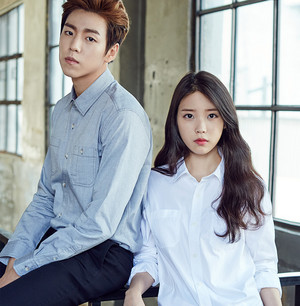IU(アイユー) and Lee Hyun Woo for Unionbay Fall Collection