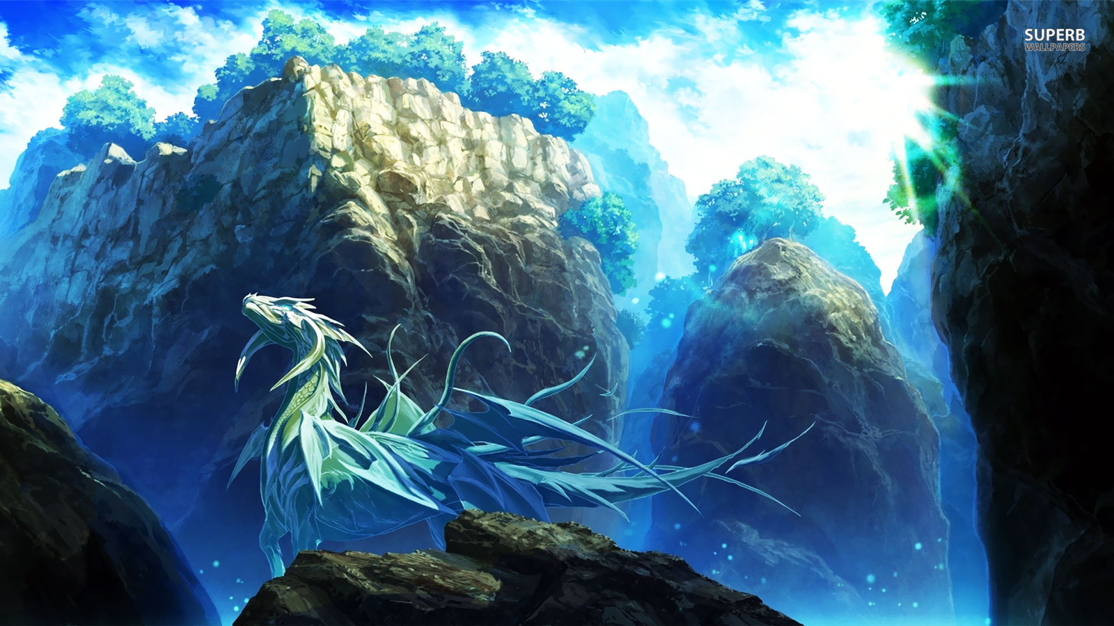 dragons images ice dragon hd wallpaper and background photos 38740651
