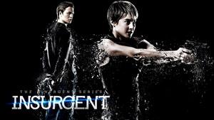 Insurgent hình nền - Caleb and Tris