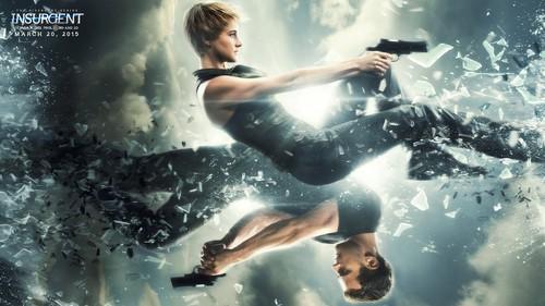 Divergent Hintergrund called Insurgent Hintergrund - Tris and Four