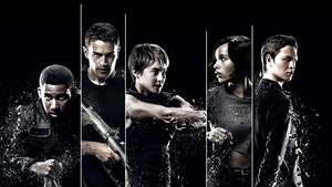 Insurgent 바탕화면 - Uriah, Four, Tris, Christina and Caleb
