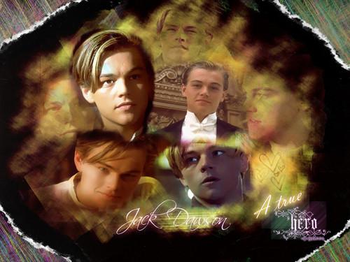Titanic karatasi la kupamba ukuta called Jack Dawson