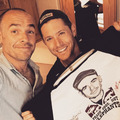 Jensen and Paul Blackthorne  - jensen-ackles photo