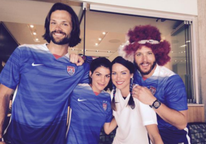 Jensena, Danneel, Jared and Genevieve