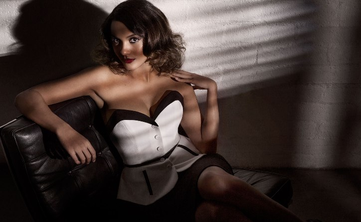 Jessica Lucas Is One Hot Black Canadian With A Whip