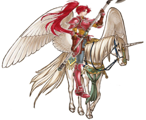 Jill the pegasus knight