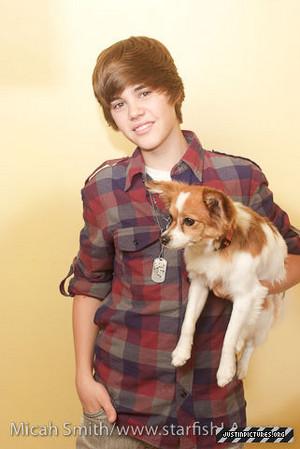 Justin Bieber Sammy (Micah Smith photoshoot)