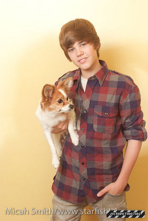 Justin Bieber Sammy (Micah Smith photoshoot)