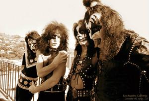 Kiss ~Los Angeles, California...January 16, 1975