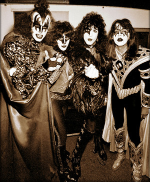 KISS ~Rome, Italy…August 29, 1980