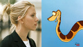Kaa and Scarlet Johanson