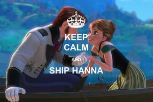 Keep Calm and ship Hanna meme