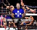 King of swing Cesaro