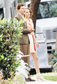 Kristen and Jesse Eisenberg on set of new Woody Allen movie - kristen-stewart photo
