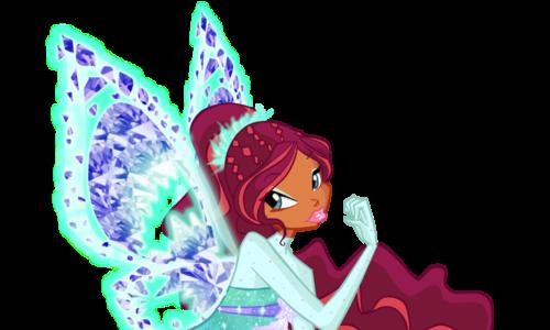Winx Club Hintergrund entitled Layla Tynix