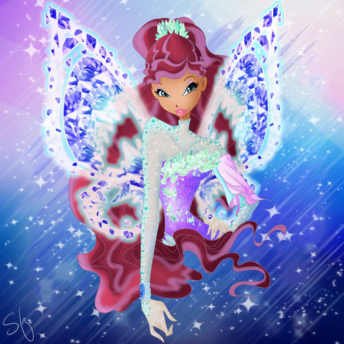 the winx club wallpaper entitled Layla Tynix