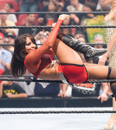 WWE Divas achtergrond titled Layla