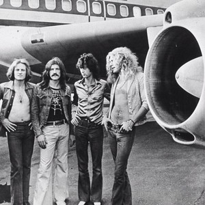 Led zeppelin airplane photo