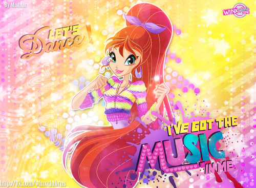 El Club Winx fondo de pantalla called Let's Dance