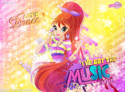 El Club Winx fondo de pantalla entitled Let's Dance
