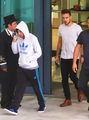Lilo arriving in London - one-direction photo