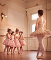 Little Ballerinas - daydreaming photo